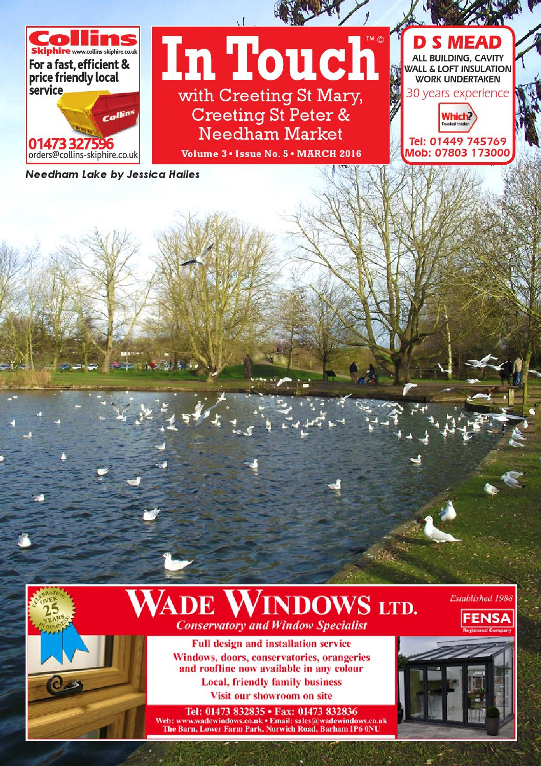 In Touch with Needham Market - March 2016 by Mansion House ...