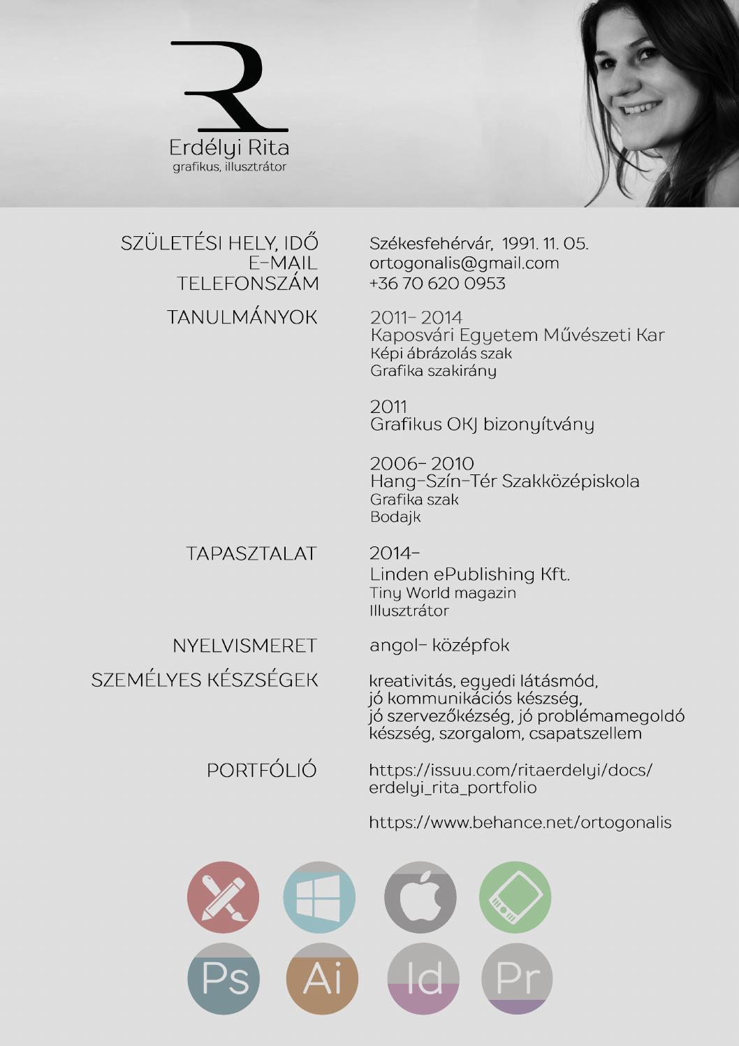 önéletrajz csapatszellem Erdelyi Rita önéletrajz/ CV by Rita Erdélyi   issuu önéletrajz csapatszellem