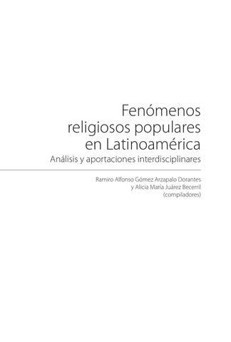 Libro fenómenos religiosos en al (v5 0 electrónico) by Ramiro Gomez ...