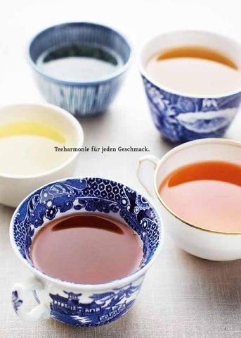 Sonnentor Tee Zeit Teekarte By Sonnentor Issuu