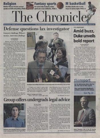 February 28 2007 By Duke Chronicle Print Archives Issuu