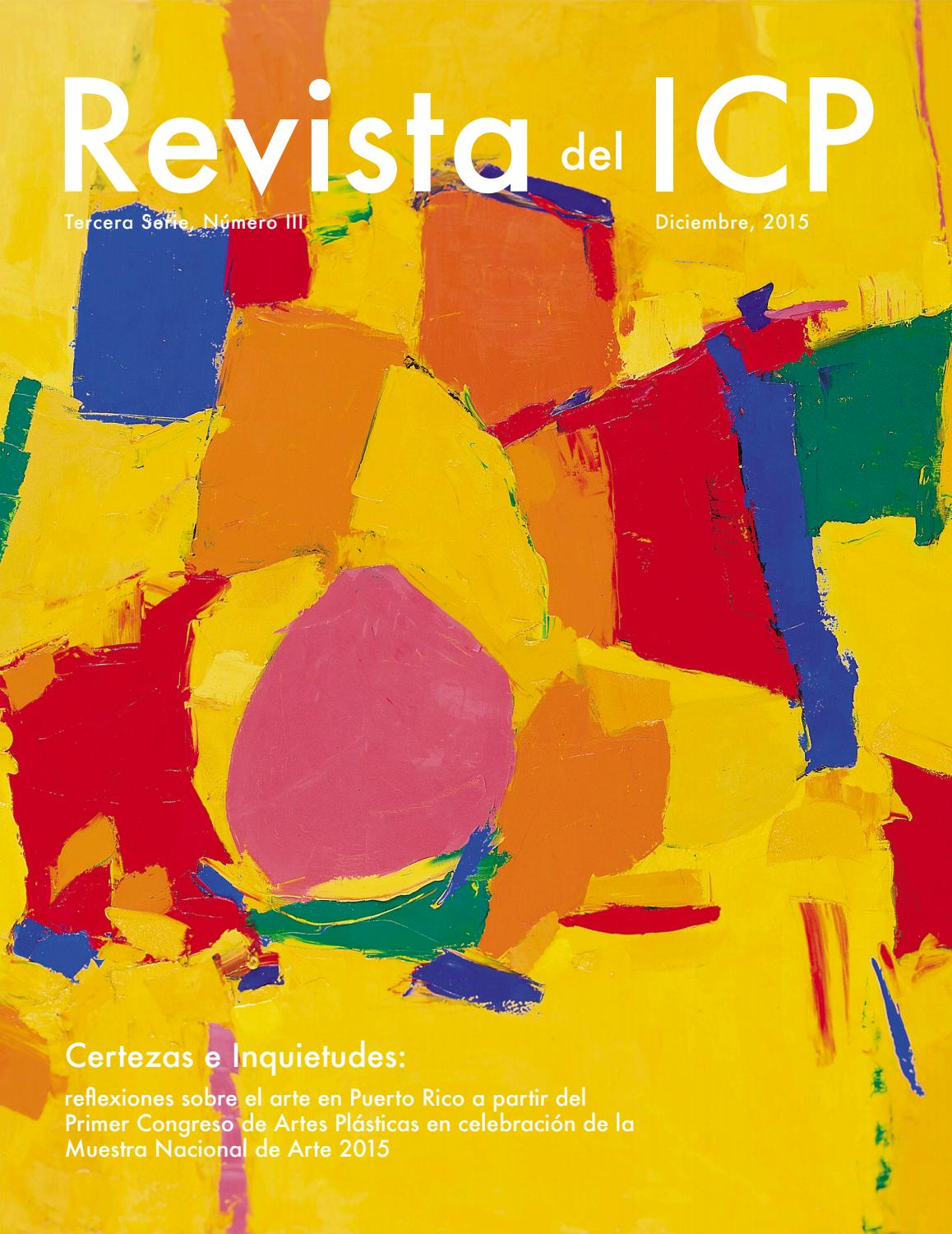 Revista del icp, tercera serie, número 3 by Revista del ICP - issuu