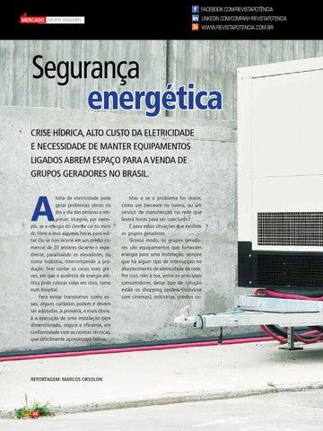 114a1039ad0 Facebook.com RevistaPotência linkedin.com company revistapotencia. Mercado Grupos  Geradores ...