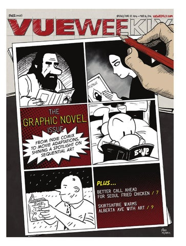 1063 The Graphic Novel Issue by Vue Weekly - issuu