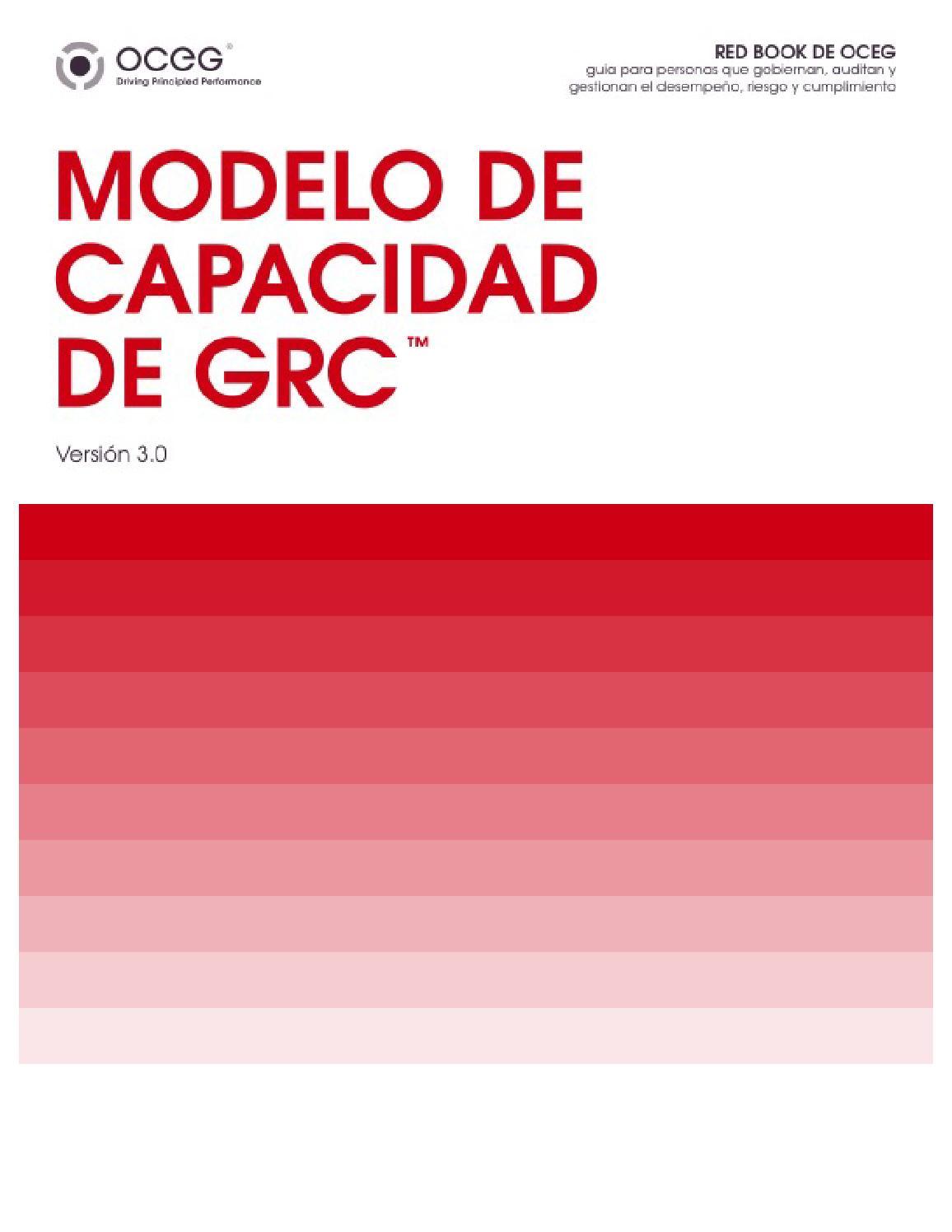 Red Book GRC Capability Model by Orlando Pineda Vallar - issuu