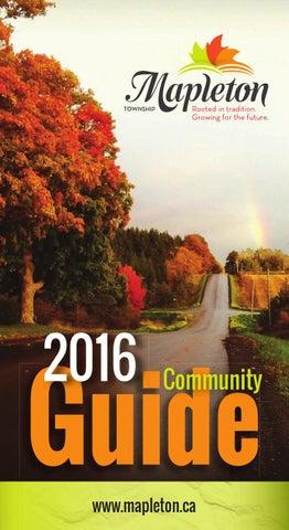 Mapleton Community Guide 2016 By Wha Publications Ltd Issuu