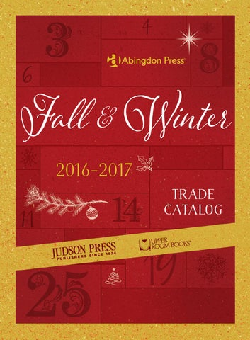 Abingdon press fall winter 2016 17 trade catalog by abingdon press fall winter 2016 2017 fandeluxe Gallery