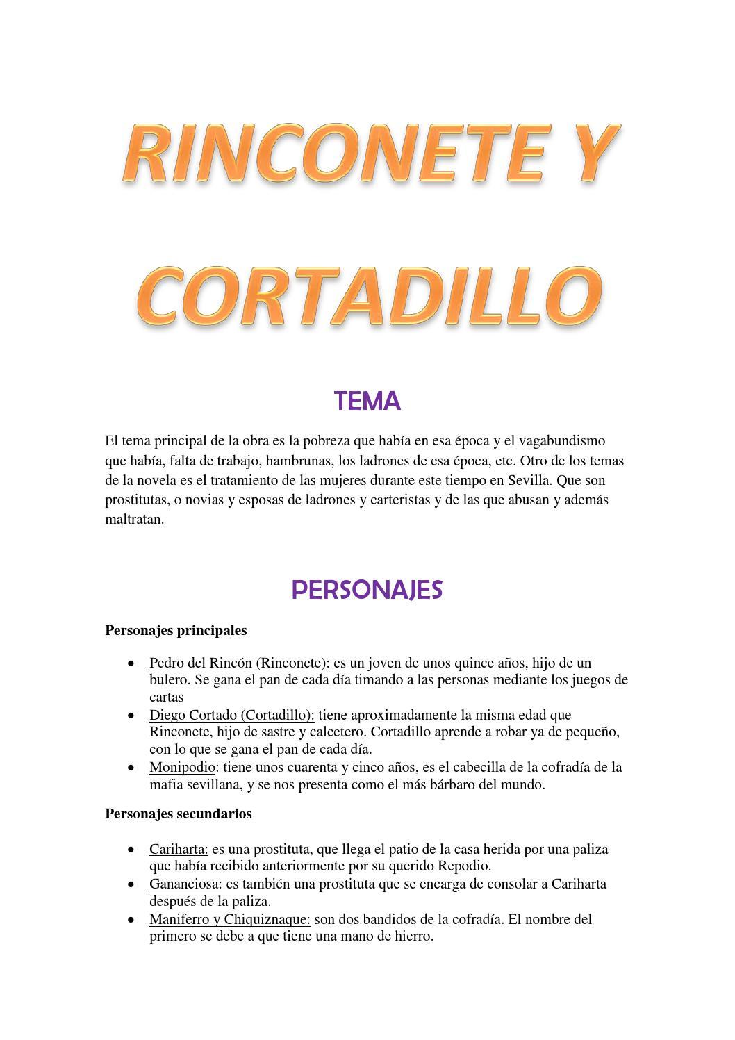 Novelas Ejemplares De Miguel De Cervantes By Rosa María Falcón González Issuu