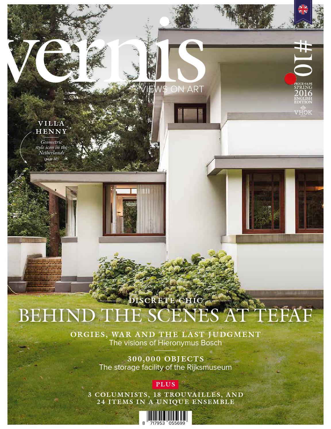 Vernis Magazine Edition10 English Edition By Koninklijke Vhok Issuu The Olive House Esther Wide Drawer White