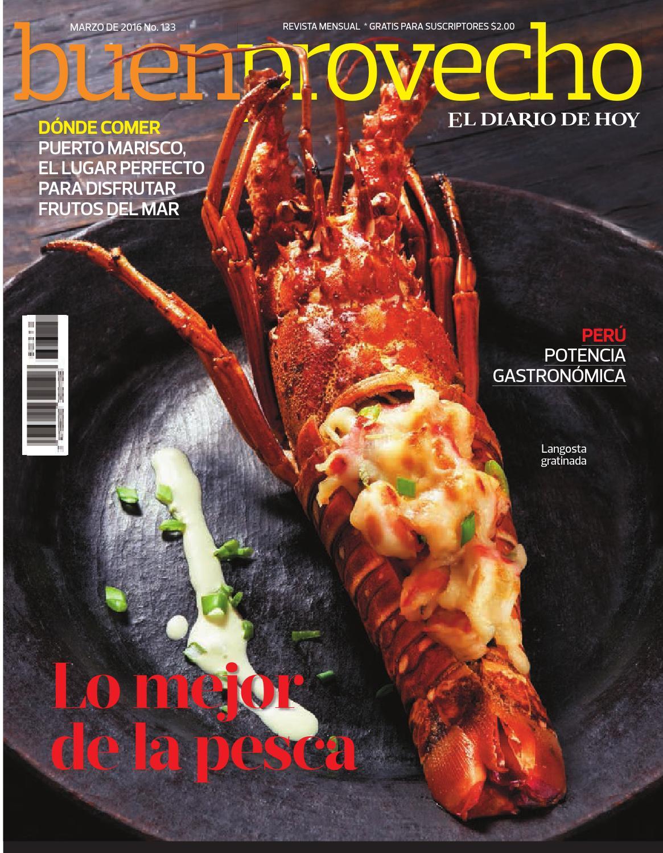 Buen Provecho Mar/2016 by Grupo Editorial Altamirano - issuu