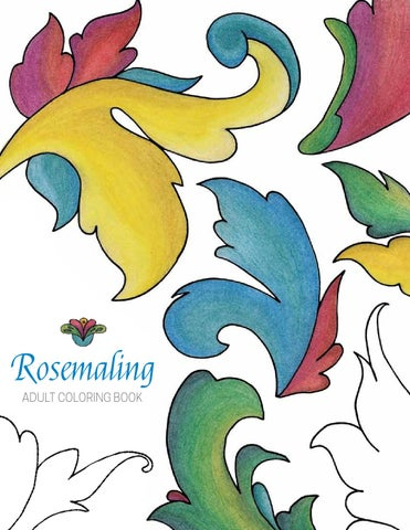 Rosemaling Coloring Book Final By Liz Issuu