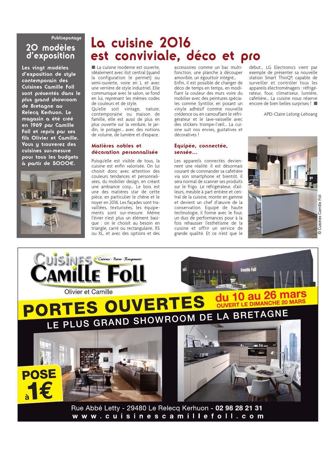 Cuisiniste Camille Foll A Brest By Bni Brest Meme Issuu
