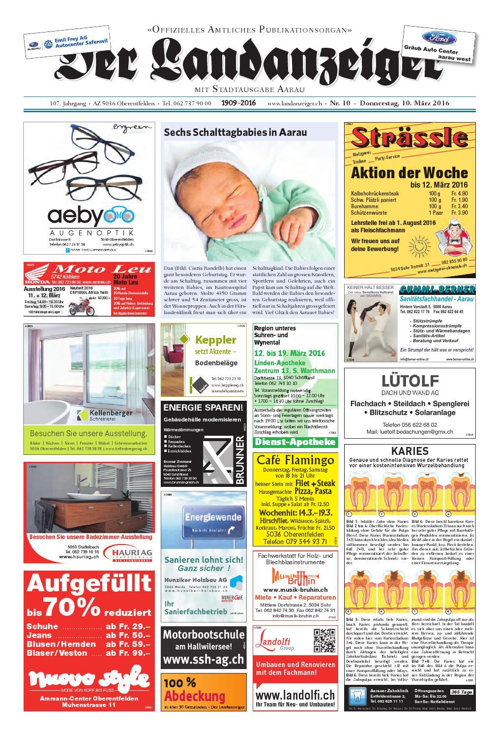 Der Landanzeiger 10/16 by ZT Medien AG - issuu