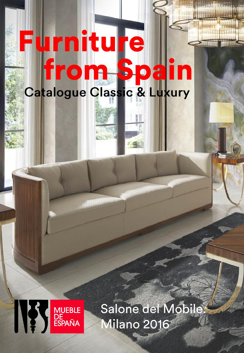 Salone Del Mobile Milano 2016 Classic Luxury Furniture By  # Creaciones Fejomi Muebles