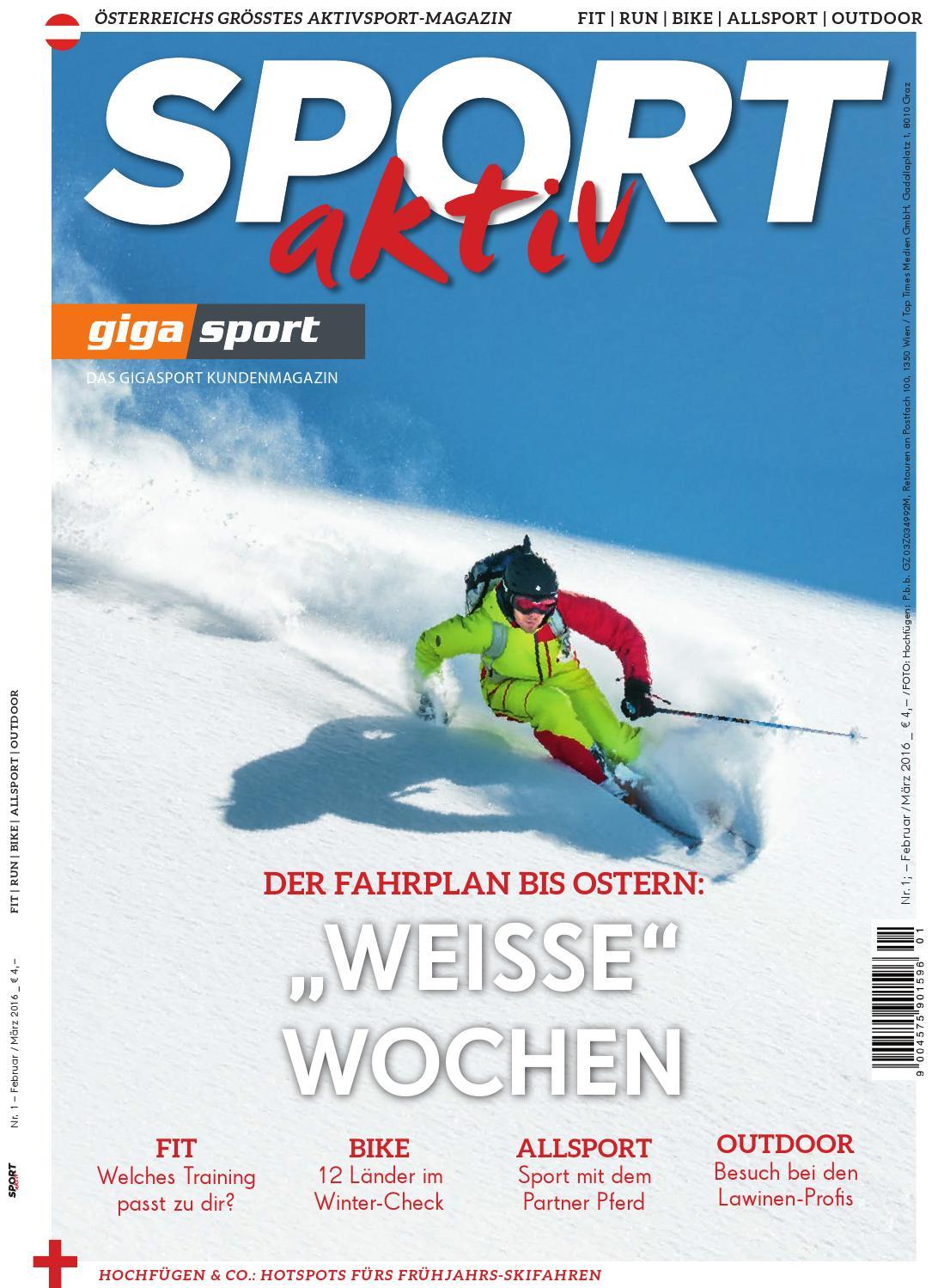 Sport Aktiv 1 16 by Gigasport - issuu