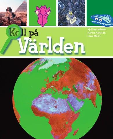 Karta Over Varldens Bergskedjor.Koll Pa Varlden Ar 6 Elevbok