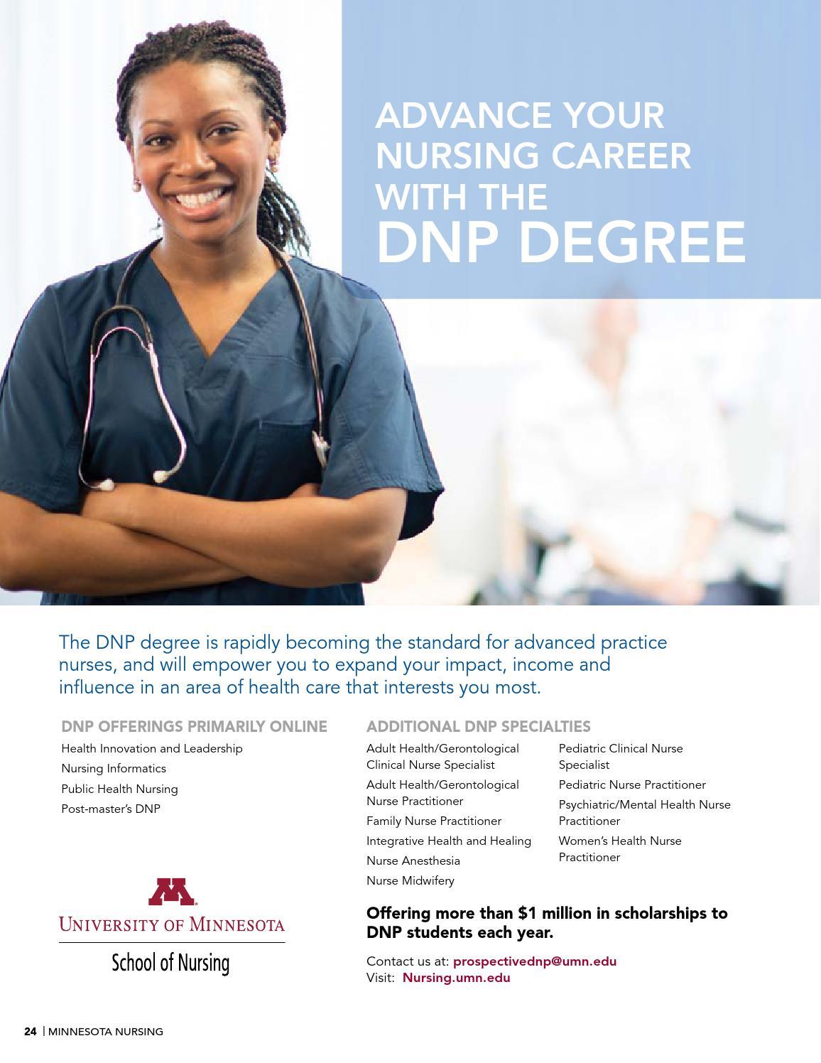 Minnesota Nursing Spring Summer 2016 by School of Nursing