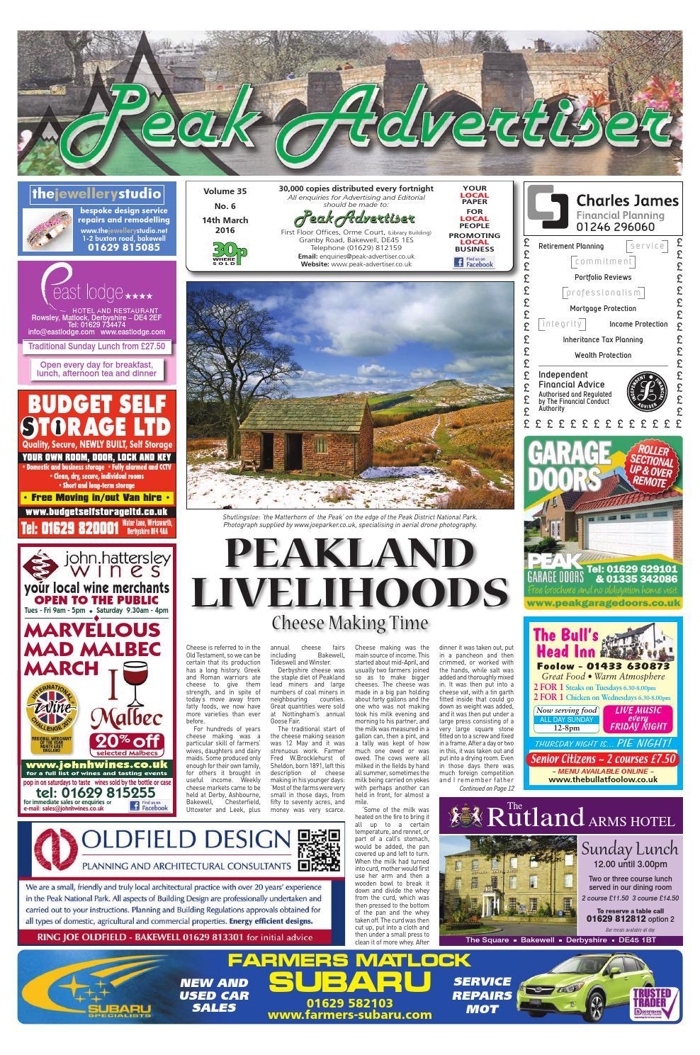 c4e38010881 The Peak Advertiser 14.3.16 by Peak Advertiser - issuu