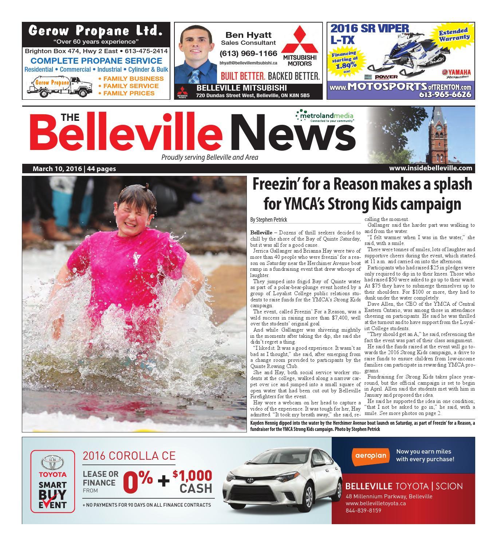 5d2c2958eddb8 Belleville031016 by Metroland East - Belleville News - issuu