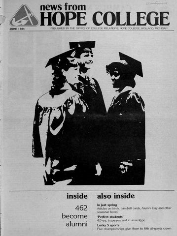 Reduced Nfhc 1984 06 By Hope College Library Issuu