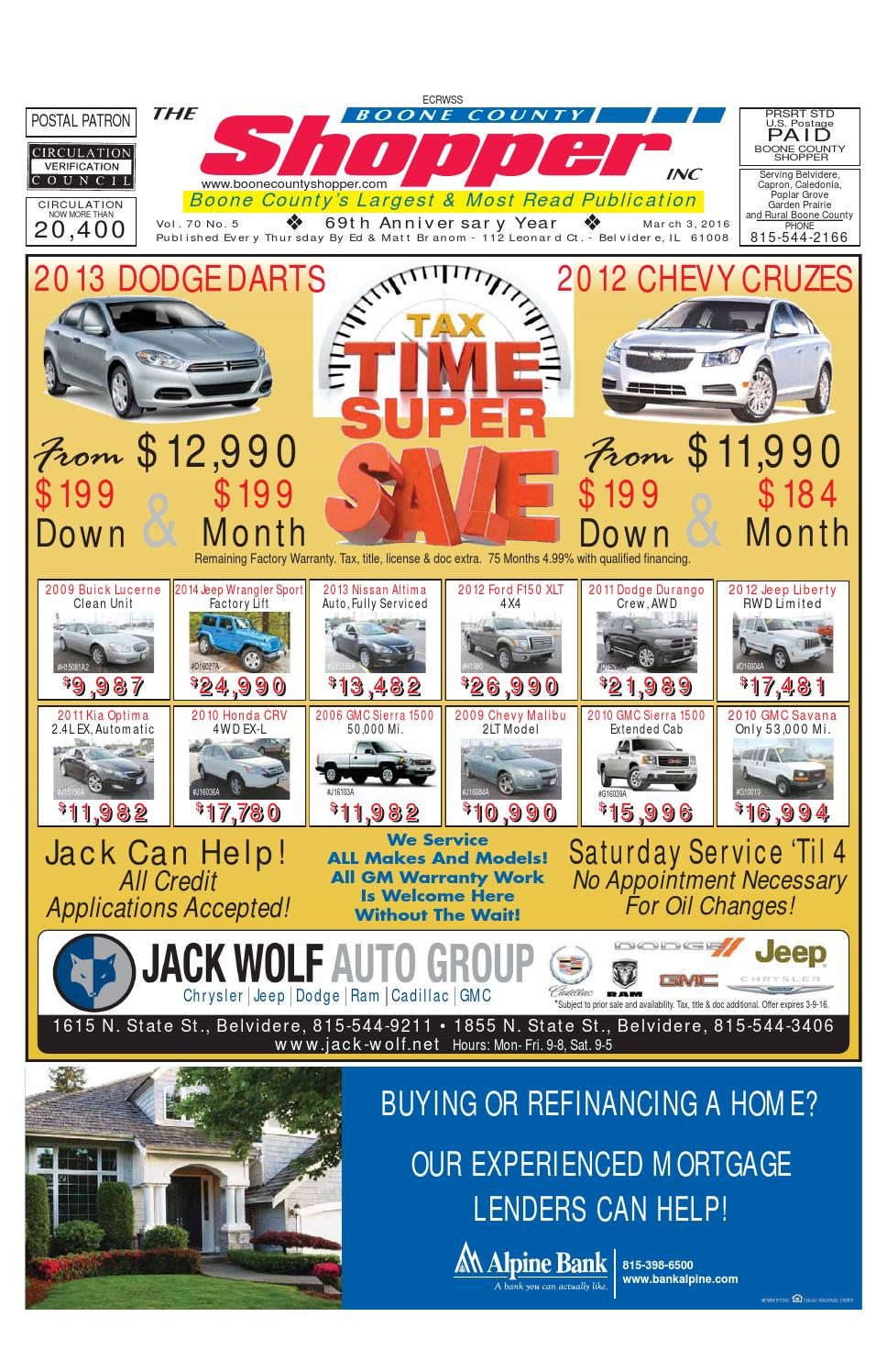 Boone County Shopper March 3 2016 By Boone County Shopper