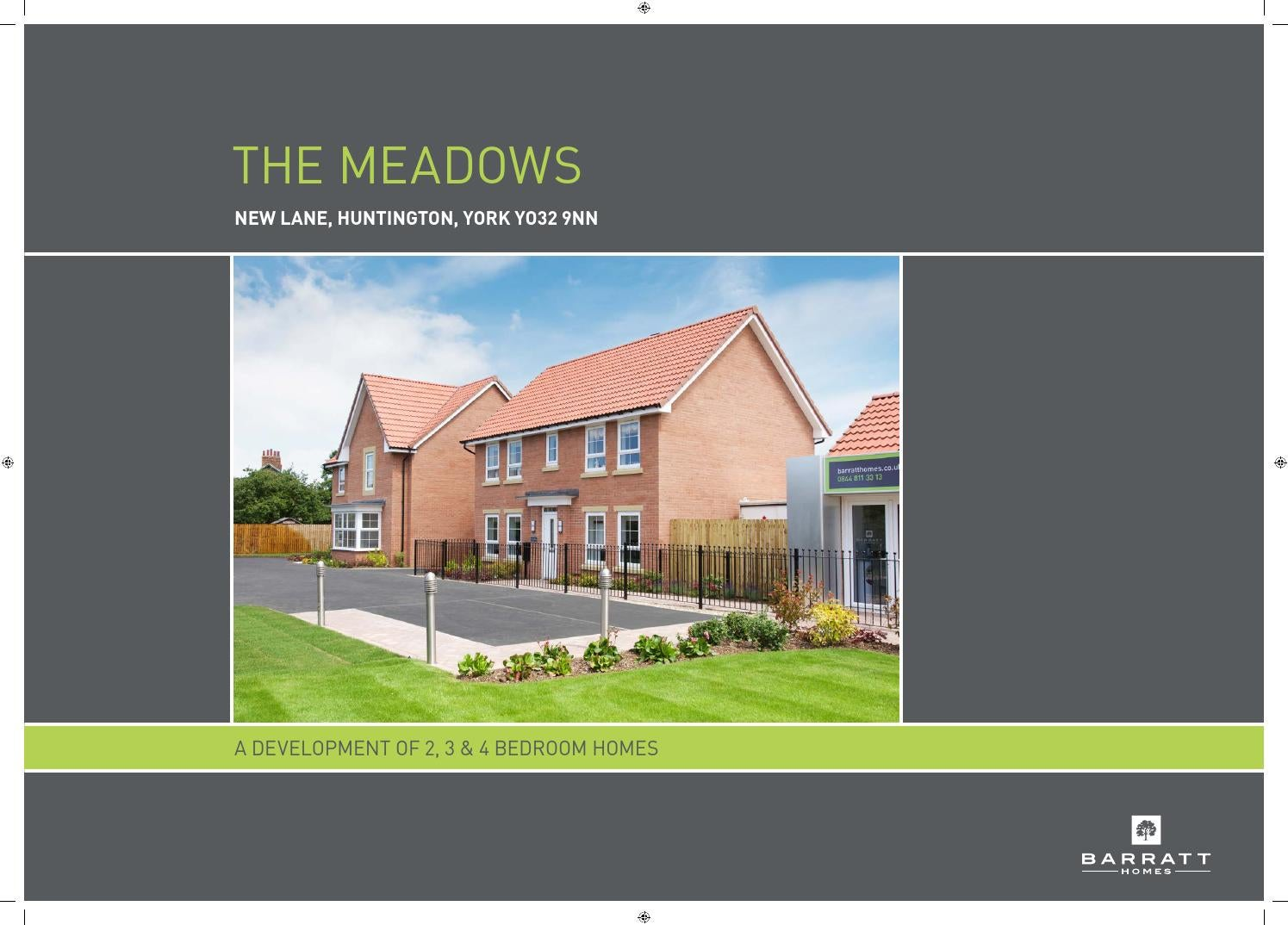 The Meadows By Newhomesforsale Co Uk Issuu