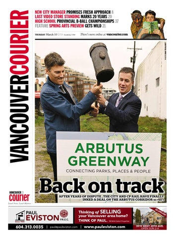 Vancouver Courier March 10 2016 By Vancouver Courier Issuu