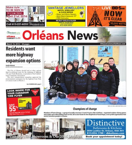 Orleans031016 by Metroland East - Orleans News - issuu