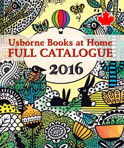 2016 Usborne Books At Home Catalogue By Usborne Books At Home Canada