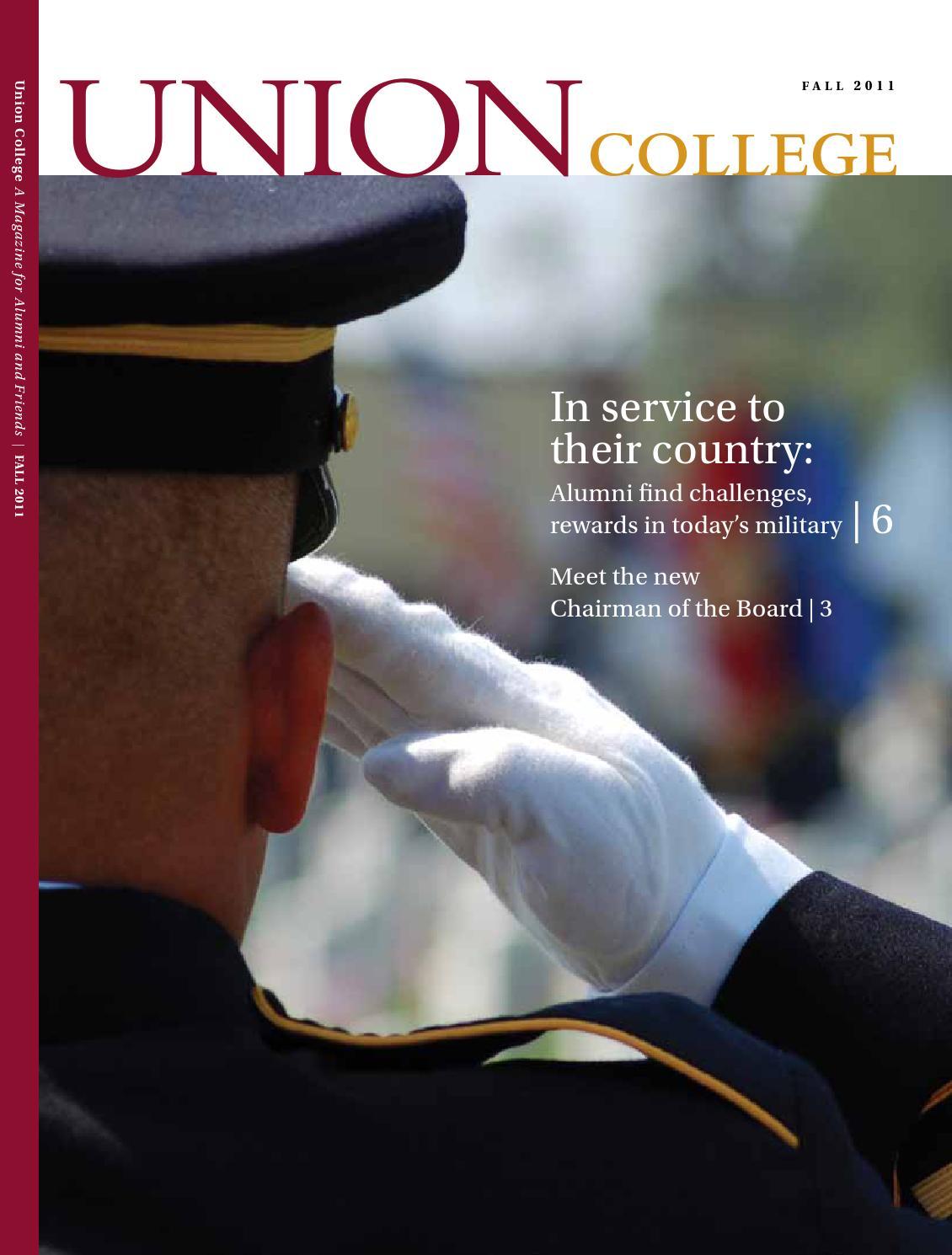 af8bbfa1b66 Union College Magazine Fall 2011 by Union College - issuu