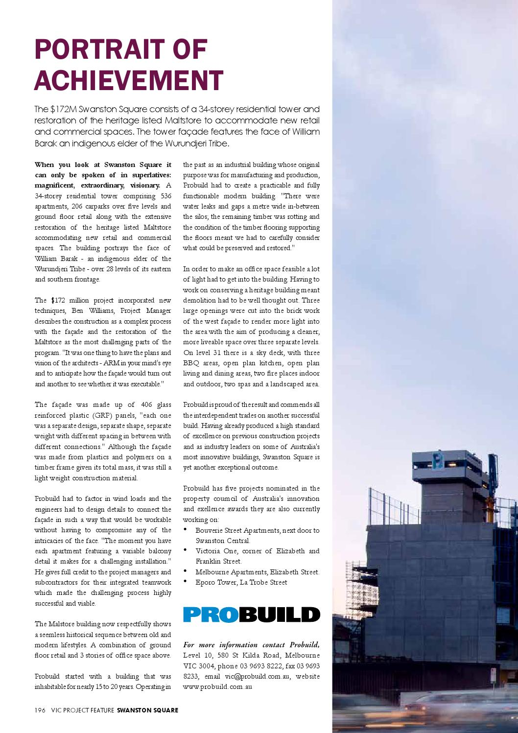 Australian National Construction Review by Trade Media Group Ptd Ltd ...