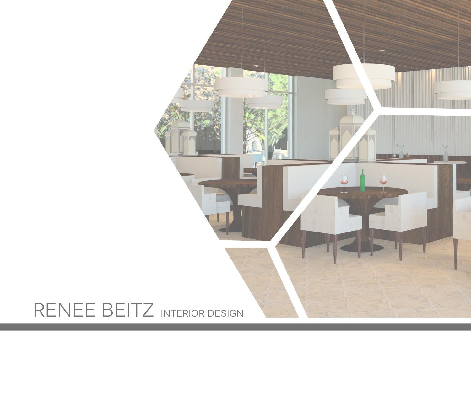 Interior design portfolio by reneebeitz issuu for How to make interior designer portfolio