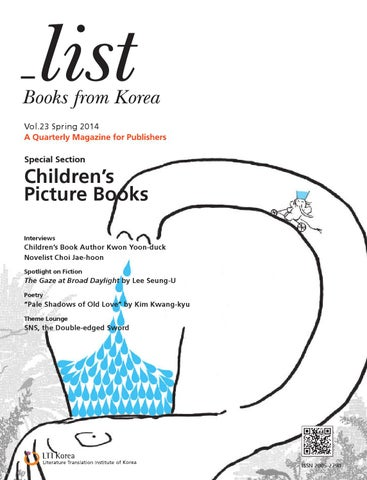 list: Books from Korea] Vol 23 Spring 2014 by LTI Korea Library - issuu