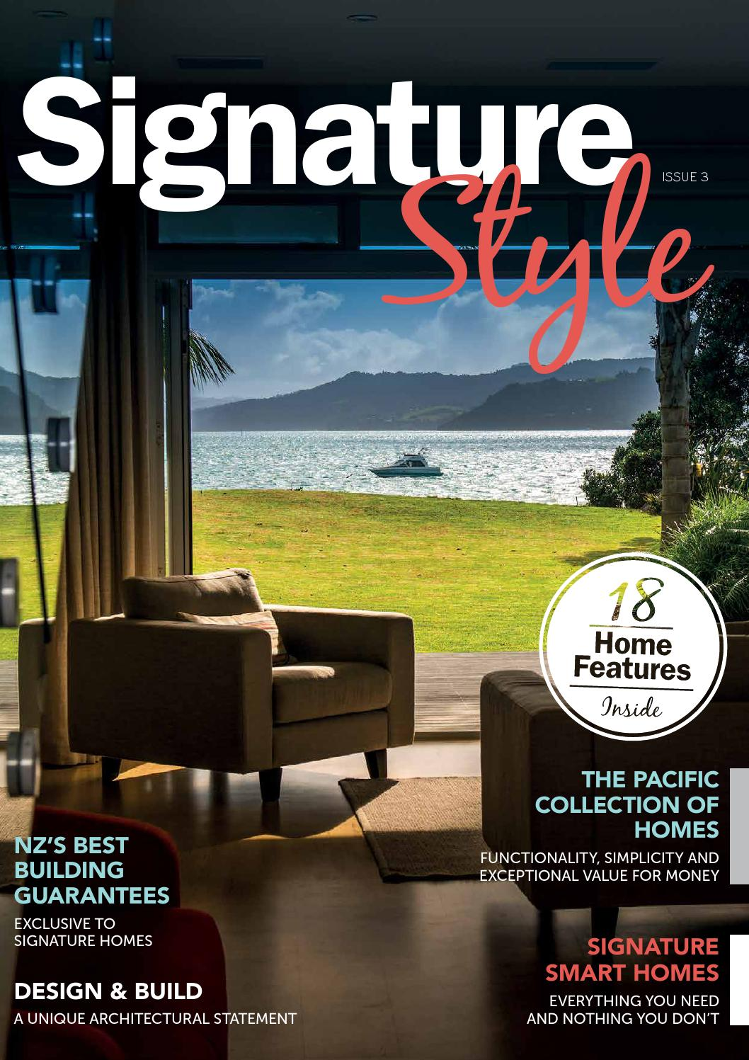 Signature Style Issue III by Signature Homes - issuu