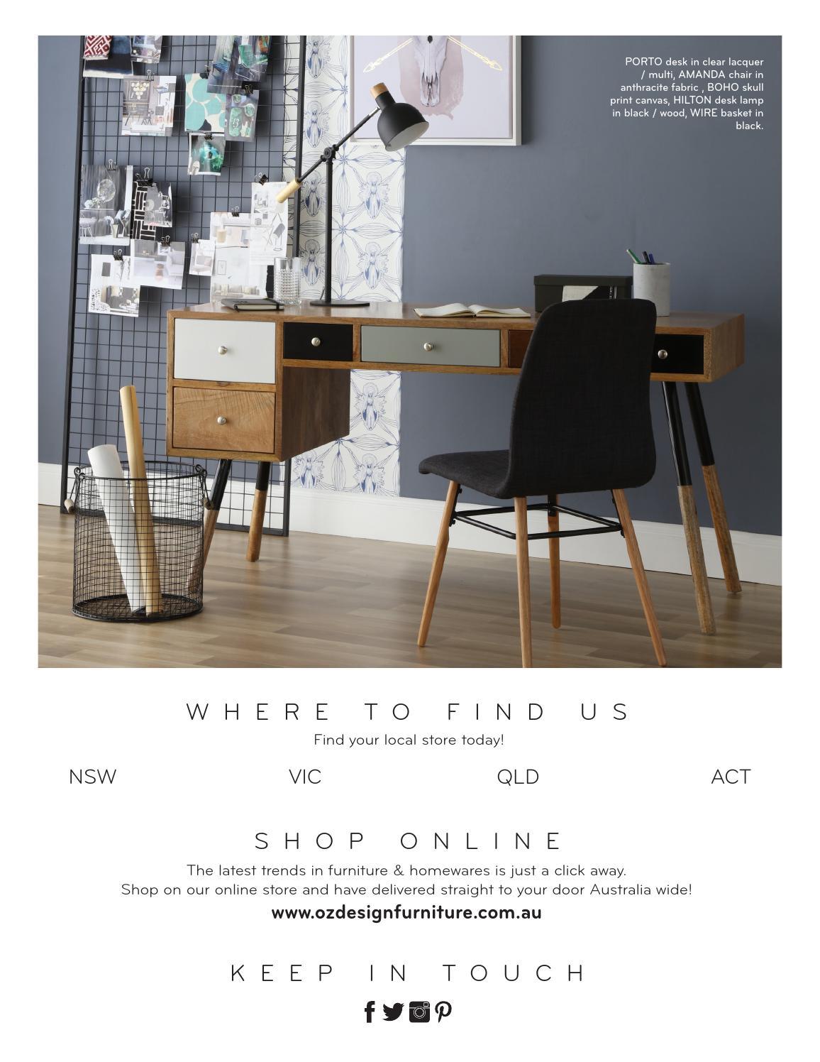 Modern australian living oz design furniture autumn look book
