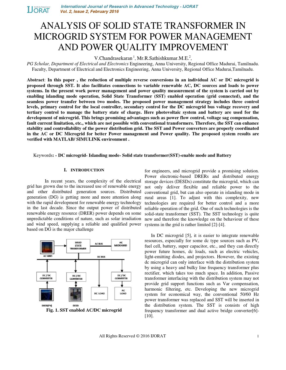 thesis on power system analysis Contingency analysis in power system thesis submitted in partial fulfillment of the requirements for the award of the degree of master of engineering in power systems & electric drives thapar university, patiala by: amit kumar roy (regn no 800941003) under the supervision of: dr sanjay k jain associate professor, eied july 2011 electrical.