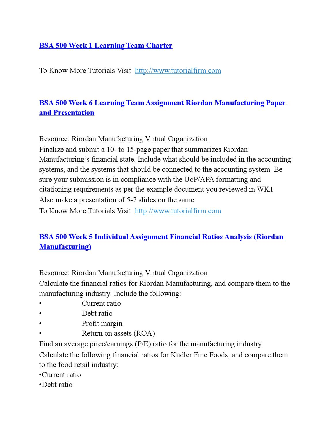 virtual organization strategy paper riordan manufacturing Resources: riordan manufacturing virtual strategy and business analysis riordan manufacturing virtual organization located on your student web site.