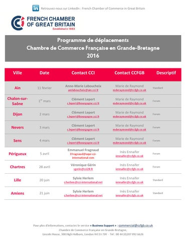 Programme jp 2016 11 03 2016 by french chamber of commerce in great britain issuu - Chambre de commerce francaise de grande bretagne ...