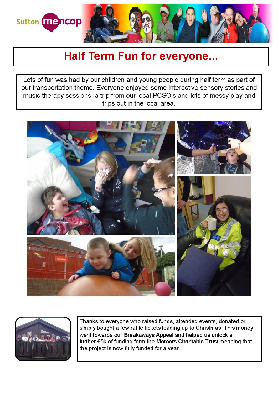 Sutton Mencap March Newsletter 2016 By Sutton Mencap   Issuu