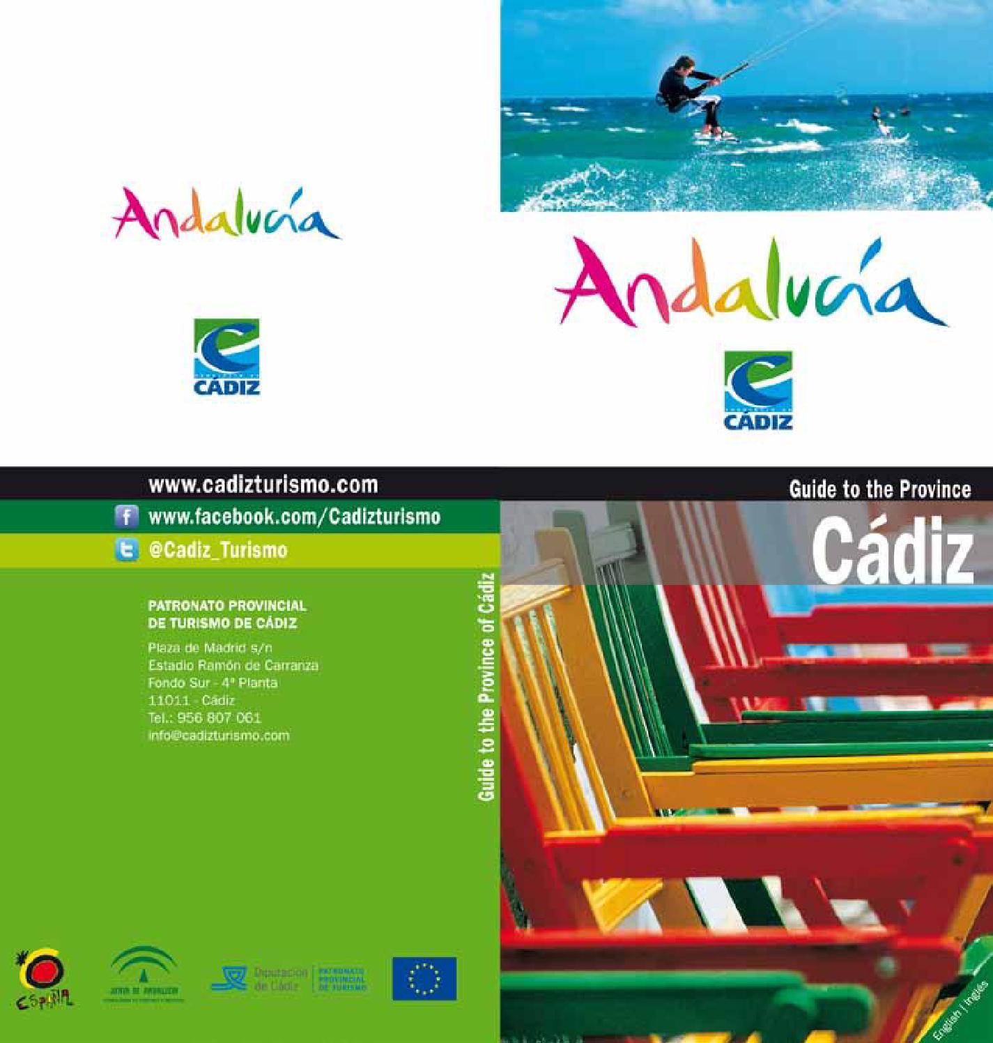 Guide To The Province Cadiz By Patronato Provincial Turismo De  # Muebles Lola Mora Bahia Blanca