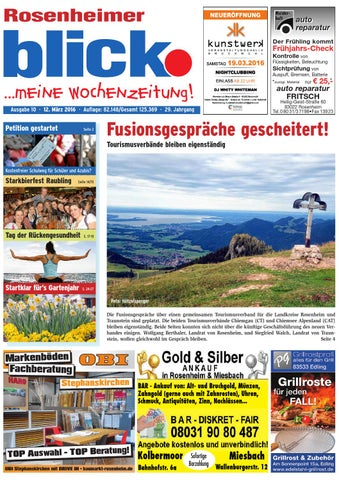 Rosenheimer blick - Ausgabe 10 | 2016 by Blickpunkt Verlag - issuu