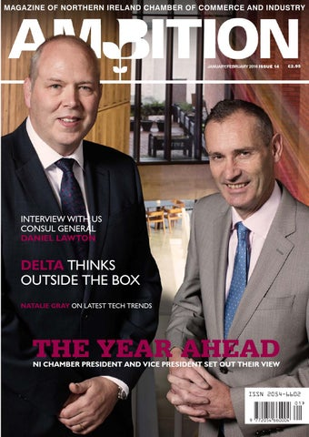 736f94db6de6 Ambition Issue 14 (Jan Feb 2016) by NI Chamber of Commerce and ...