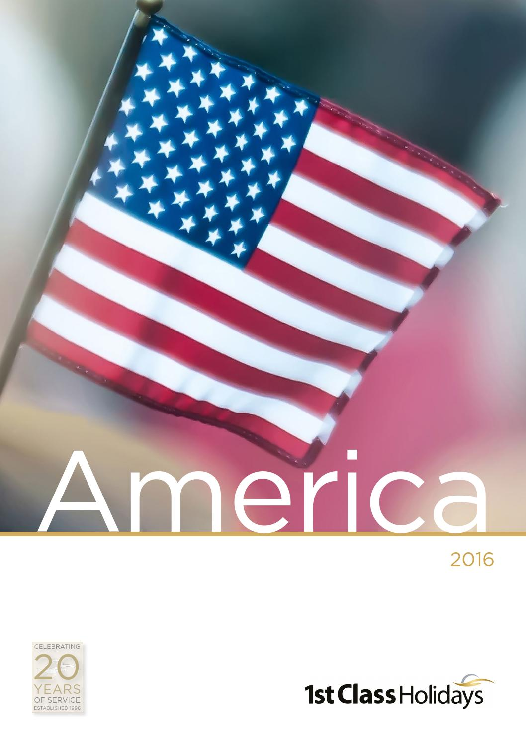 1st Class Holidays: America 2016 by First-Class-Holidays - issuu