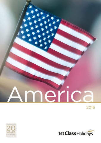 336c3e2b12af 1st Class Holidays  America 2016 by First-Class-Holidays - issuu