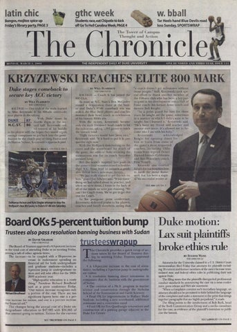 March 3, 2008 by Duke Chronicle Print Archives - issuu