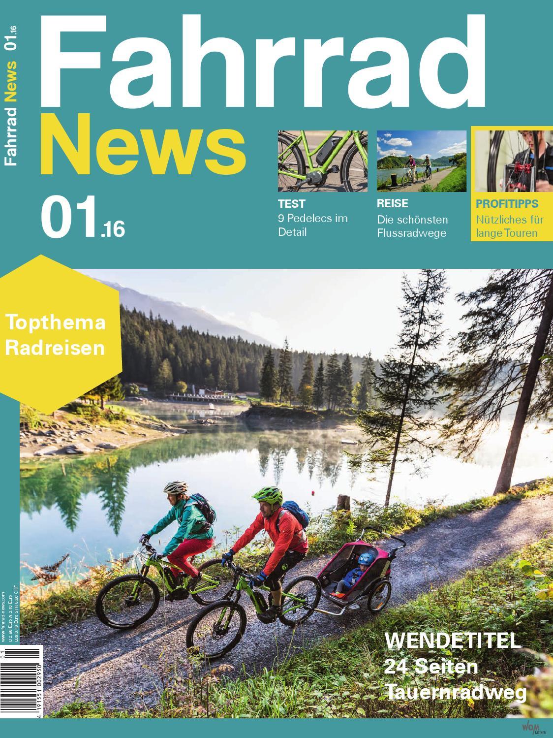 Fahrrad News 01.2016 by WOM Medien - issuu