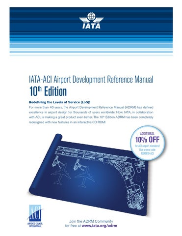aci world report march 2016 by airports council international issuu rh issuu com iata airport development reference manual 8th edition iata airport development reference manual 10th edition download