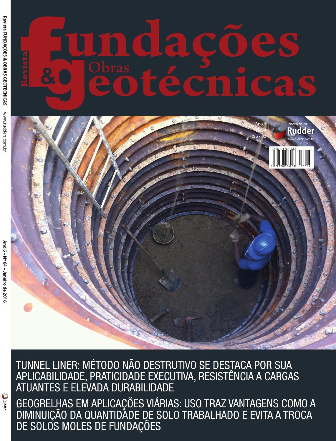 eb69b496b Revista Fundações & Obras Geotécnicas - Ed.64 by Revista Fundações - issuu