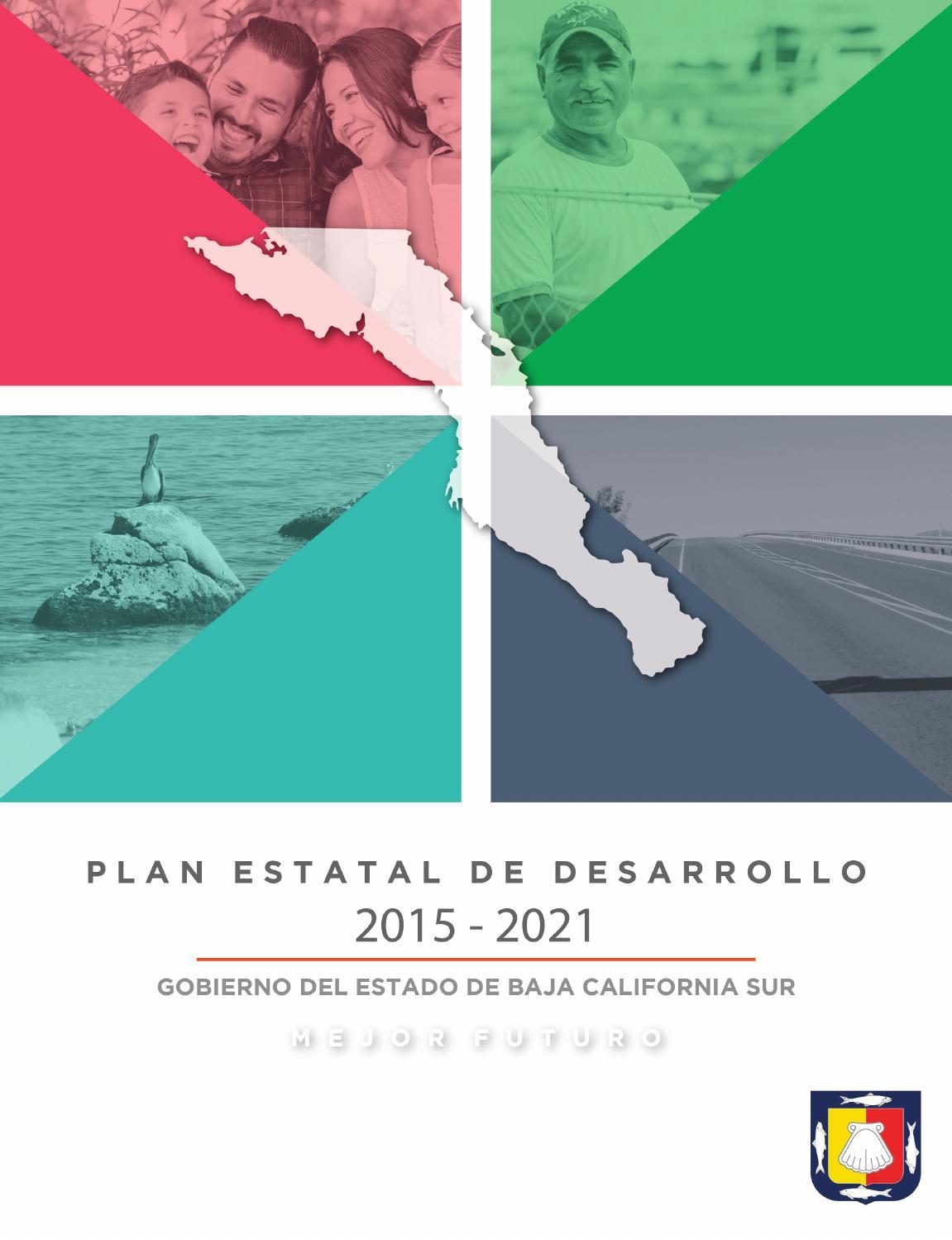 Plan Estatal de Desarrollo BCS 2015-2021 by Gobierno de Baja ...