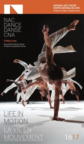 2016 17 NAC Dance Season BrochureBrochure de danse de la